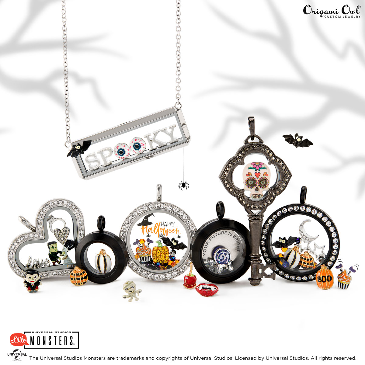 Halloween 2020 Origami Owl Spooky: Origami Owl's Halloween Collection 2018 · life's little charms