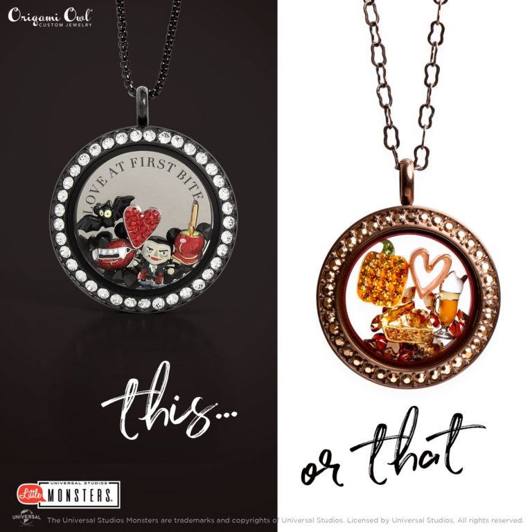 Spooky Origami Owls Halloween Collection 2018 Lifes Little Charms